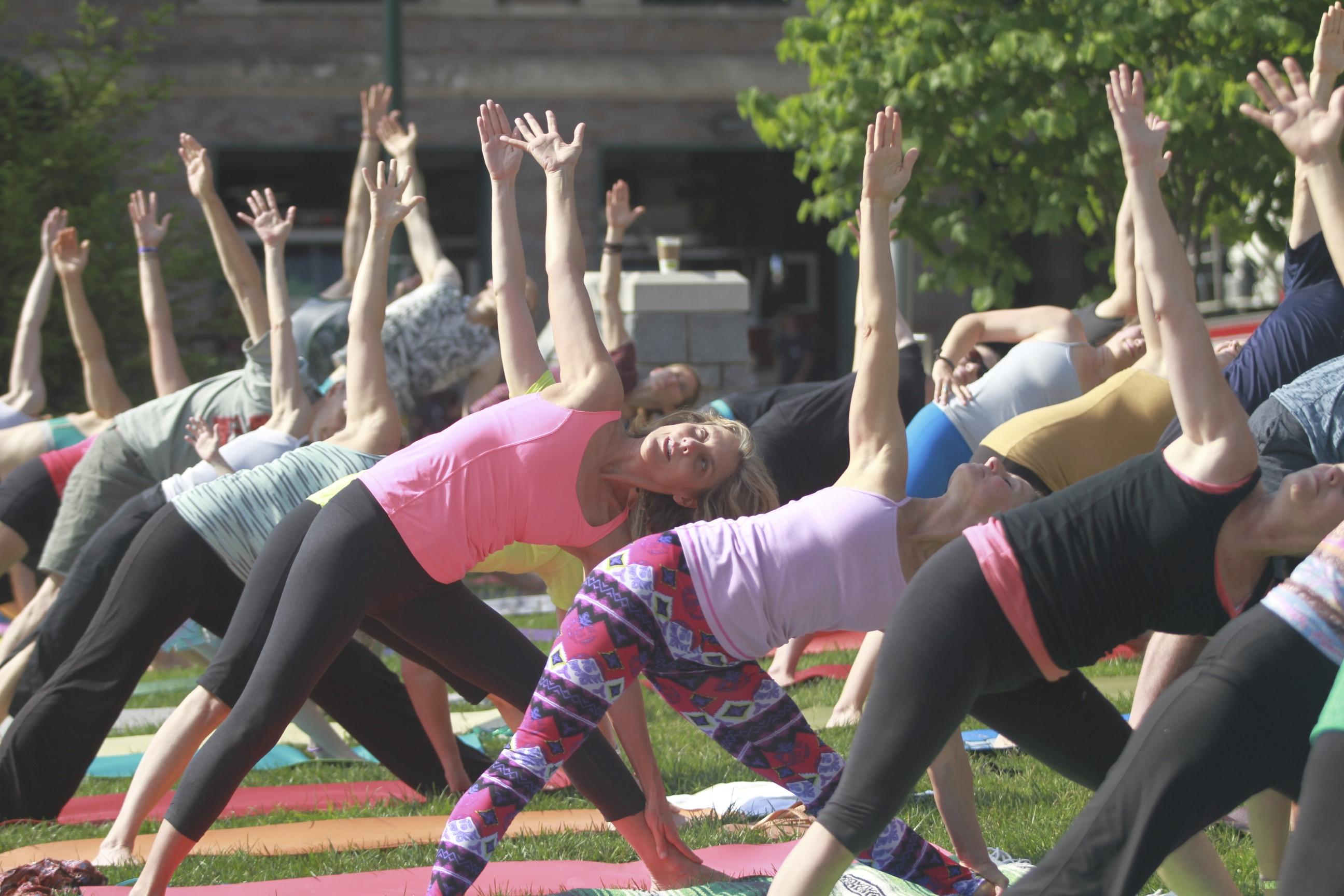2017 Yoga in the Park - Asheville Yoga Center